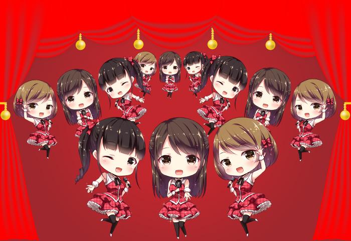 AKB48風